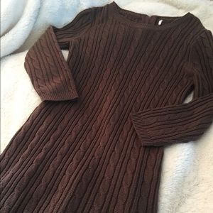 Dresses & Skirts - Brown Sweater Dress!